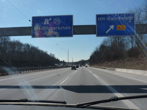 002 2013-04-02 003 Autobahn runt Hamburg