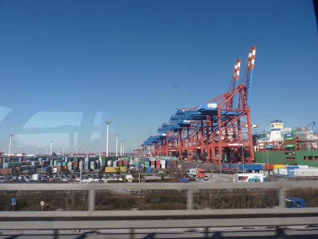 003 2013-04-02 007 Autobahn runt Hamburg