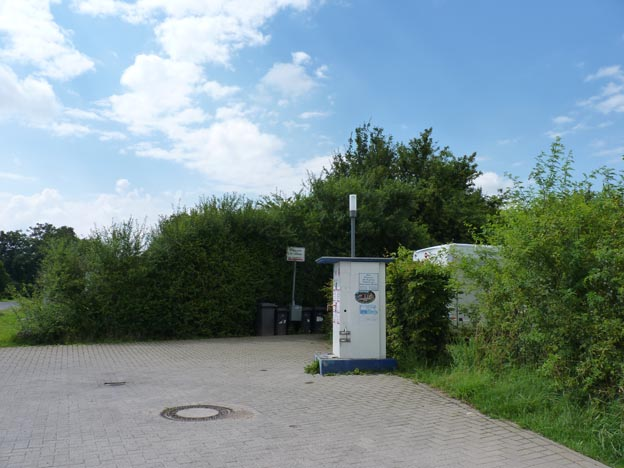 008 2014-07-14 006 Ställplats i Jülich, Brückenhof Park