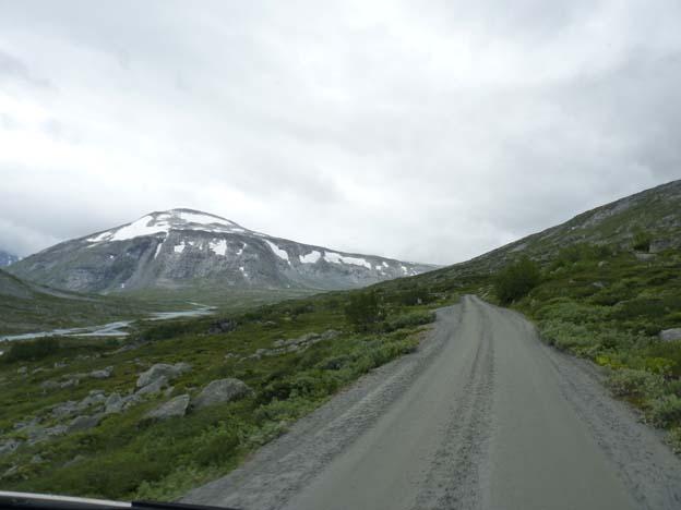 Turistväg över Stryn-fjället