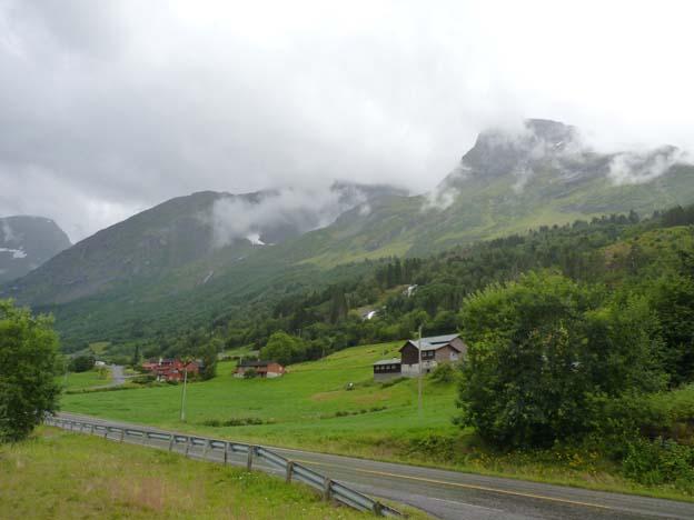 Typisk norsk landsbygd
