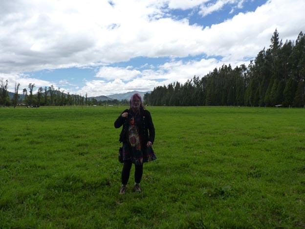 Jag på markerna.