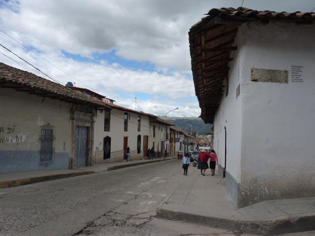 Centrum i Cajamarca.